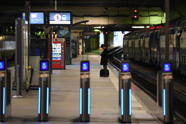 Gare de Montparnasse, Paris. 11 de Dezembro de 2019.