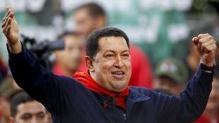 El presidente venezolano Hugo Chávez, el 13 de abril de 2011.