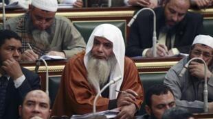 Miembros del parlamento egipcio durante una sesión en El Cairo.