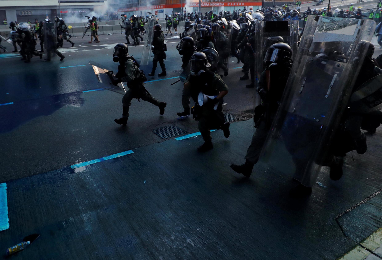香港防爆警察 2019年9月15日