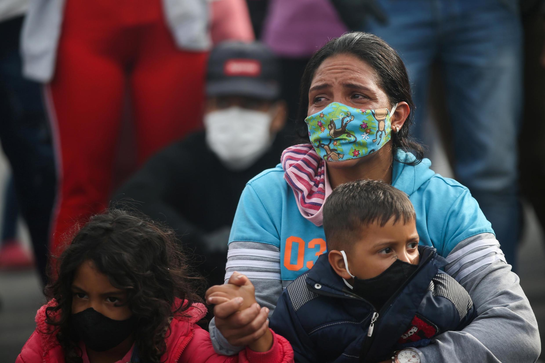 La Colombie est le premier pays d'accueil des migrants vénézuéliens. Ici à Bogota, le 29 avril 2020.