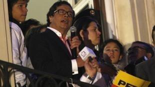 Discurso de Gustavo Petro tras conocerse la noticia de su destitución, Bogotá, 10 de diciembre de 2013.