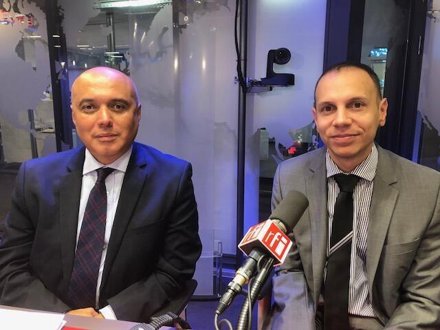 Unaldo Vieira de Sousa, Cônsul-Geral adjunto e  João André de Oliveira, Cônsul-adjunto do Brasil em Paris.