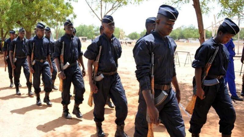 Askari polisi 11 wa Burkina Faso