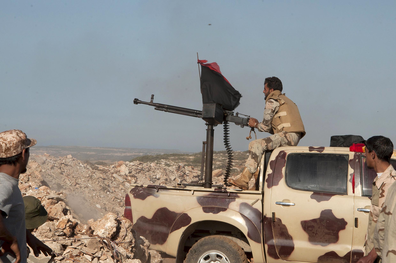 Mayakan kasar Libya