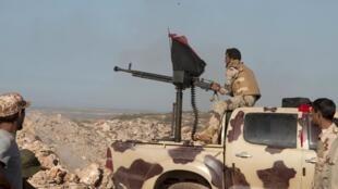 Dakarun Gwamnati Libya da ke fada da 'Yan tawaye a lardin Derna