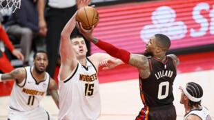 Denver Nuggets vence a Portland el 3 de junio de 2021 y avanza a las semifinales de la Conferencia Oeste de la NBA