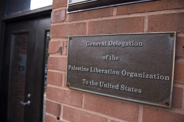 Trụ sở của Tổ Chức Giải Phóng Palestine tại Washington.