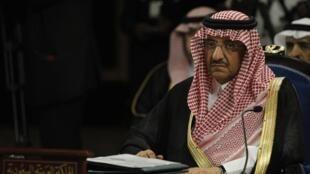 Waziri wa Mambo ya Ndani wa Saudi Arabia, Mohammed bin Nayef, Januari 23, mwaka 2015.