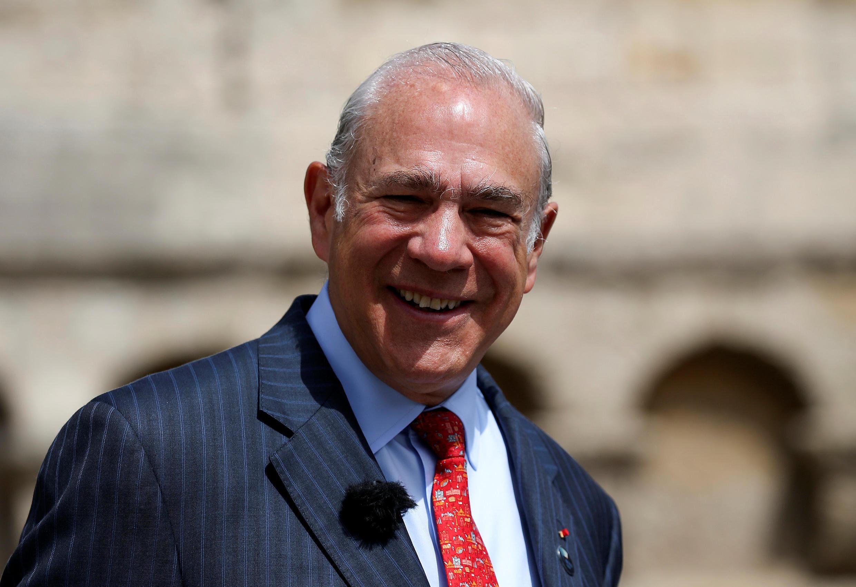 Ángel Gurría,secretário-geral da OCDE, foi à Brasília divulgar o relatório econômico sobre o Brasil.