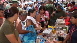 Les produits de première nécessité manquent au Venezuela.