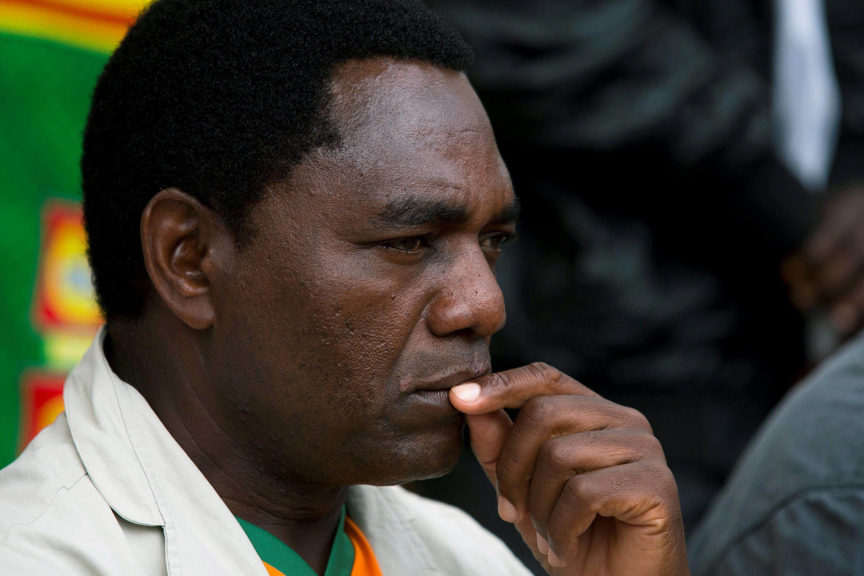Hakainde Hichildma shugaban yan adawa a kasar Zambia
