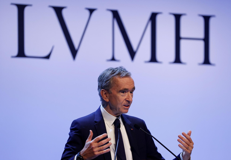 Le patron de LVMH, Bernard Arnault.