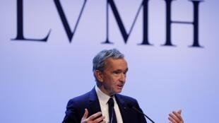 LVMH pertence ao francês Bernard Arnault, terceiro homem mais rico do mundo