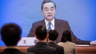 Министр иностранных дел Китая Ван И. 24.05.2020.
