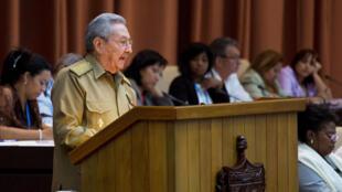 Raul Castro en 2017.