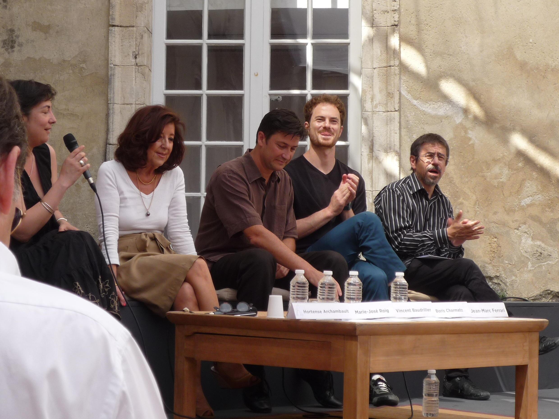 Ban tổ chức Festival Avignon họp báo nhân ngày khai mạc ấn bản 2011.