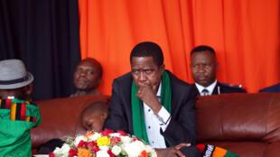 President Edgar Lungu in Lusaka, October 18, 2015