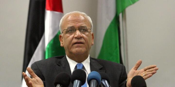 صائب عریقات، رئیس سازمان آزادیبخش فلسطین