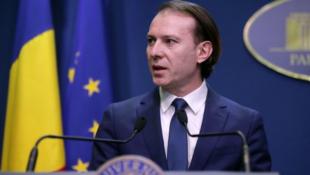 羅馬尼亞總理克楚資料圖片