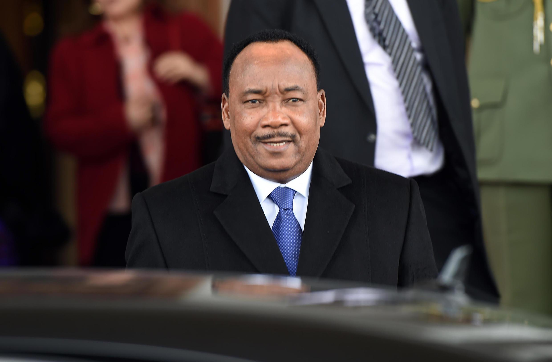 Le président sortant Mahamadou Issoufou.