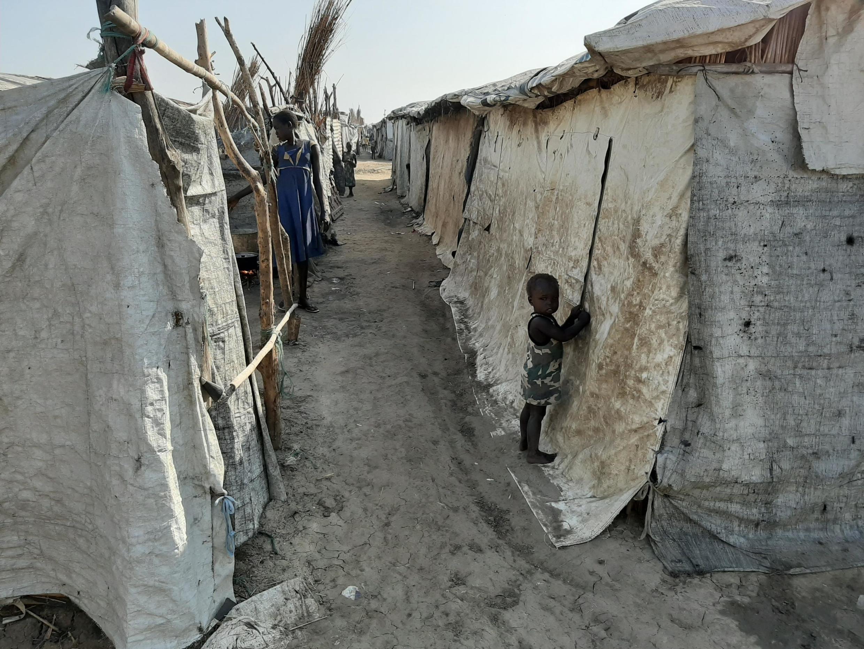 Le camp de déplacés de Bentiu, au Soudan du Sud. (Image d'illustration)