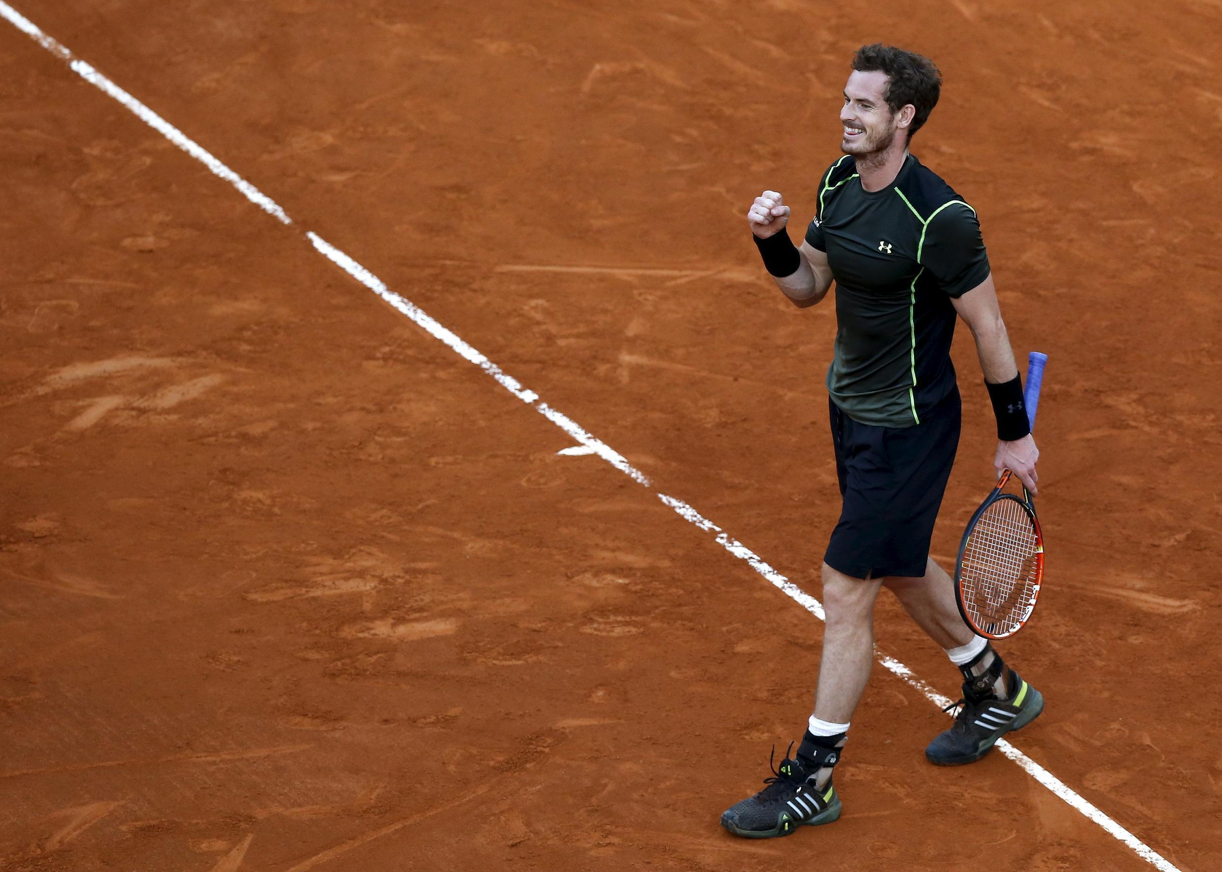 Andy Murray claimed his first Masters title on clay with his win over Rafael Nadal in Madrid