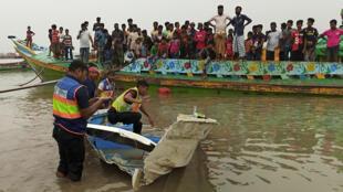 Bangladesh - accident - bateau