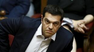 Waziri mkuu wa Ugiriki, Alexis Tsipras
