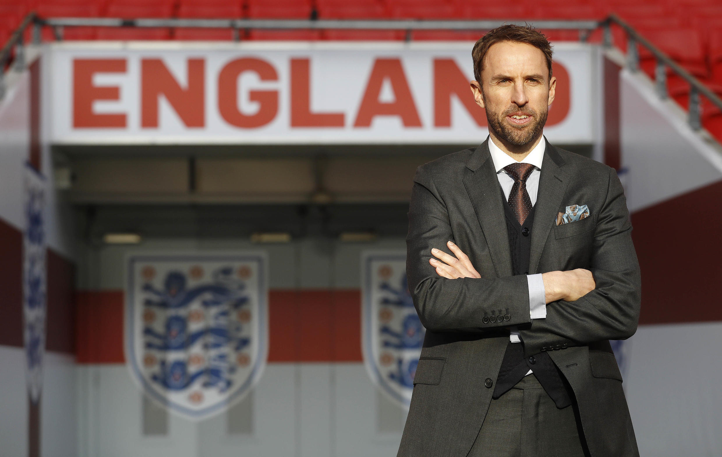 Gareth Southgate when he took over from Sam Allardyce as England manager.