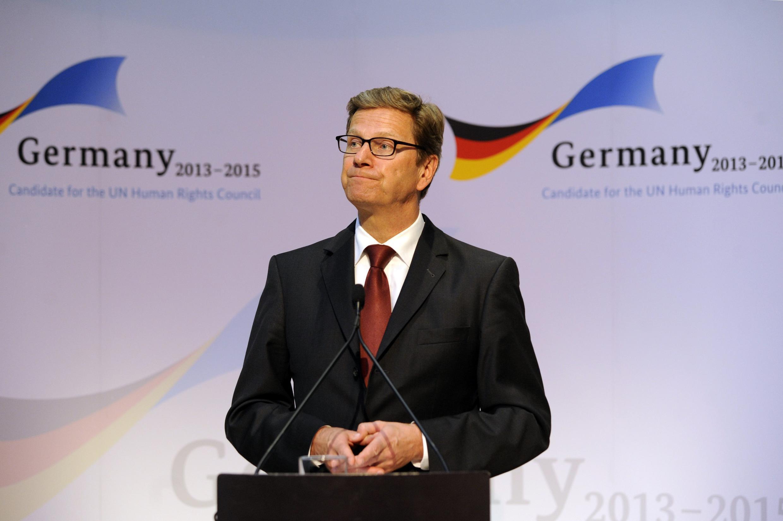 Министр иностранных дел Германии Гидо Вестервелле (архив)