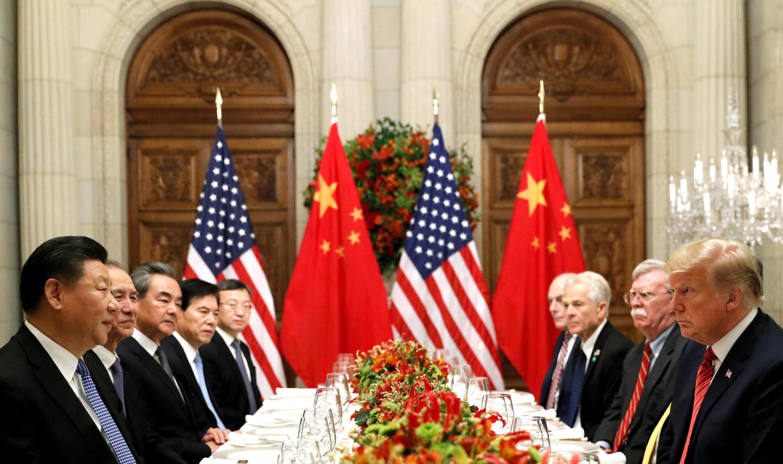 中美两国首脑在布宜诺斯艾利斯二十国集团会议期间举行会晤 2018年12月1日