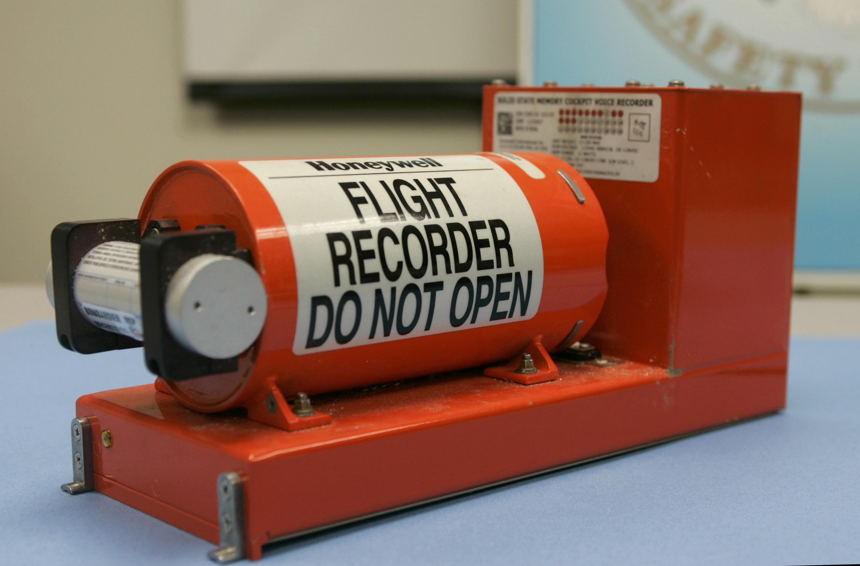 L'enregistreur du vol 3407 de Continental Airlines qui s'est écrasé le 12 février 2009 sur une maison en banlieue de Buffalo.