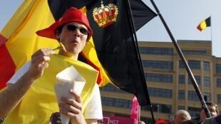 """Es la nueva divisa patriótica del Reino de Bélgica en tiempos de coronavirus: """"¡Papas fritas, papas fritas, papas fritas!"""". Foto de archivo, el 29 de marzo 2011."""