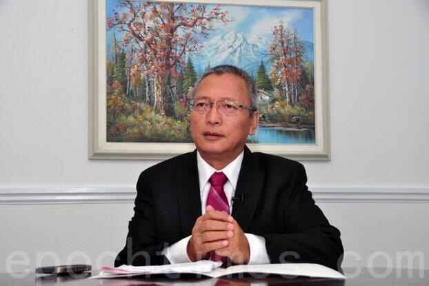图为前中国最高法院审判员谢卫东照片