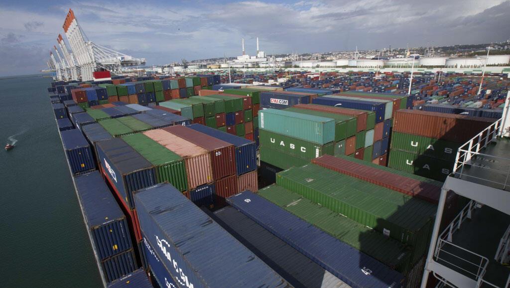 Porto do Havre, a principal porta de entrada de cocaína na França, onde foram apreendidas 3,5 toneladas da droga em 2017.