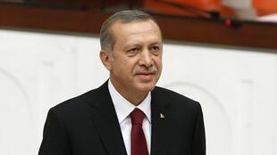 Recep Tayyip Erdogan, le 28 août 2014.