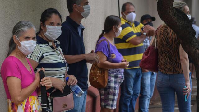 巴西Covid疫情更趋严峻 正在失控中?(photo:RFI)