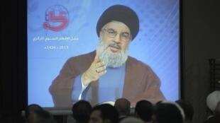 Верховный и духовный вождь ливанской шиитской организации Хезболла Хасан Насралла