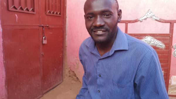 Mudawi Hassan, 24 ans, a été très actif pendant la révolution. Il espère toujours voir «un nouveau Soudan» et avoir une meilleure vie.