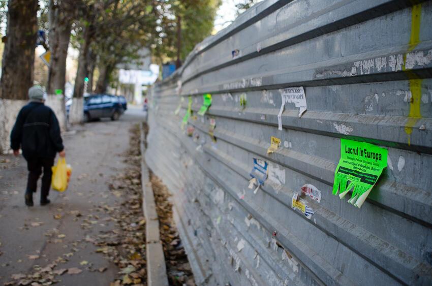 Dans les rues de Chisinau (Image d'illustration).