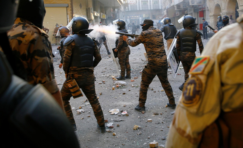 درگیریها در عراق، در روز یکشنبه سوم آذر/۲۴ نوامبر، به خشونت کشیده شد.