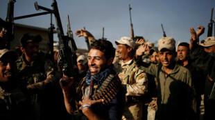 伊拉克部队攻入摩苏尔东区。2016-11-04