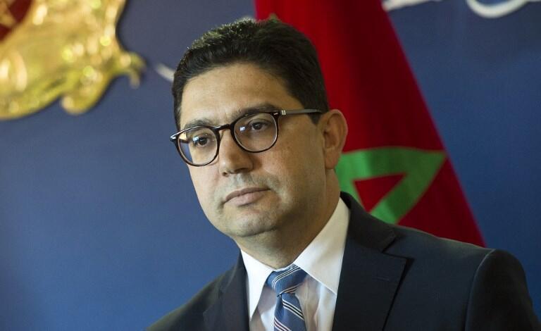 ناصر بوریطه، وزیر امور خارجۀ مراکش – رباط، ٨ دسامبر ٢٠١٧