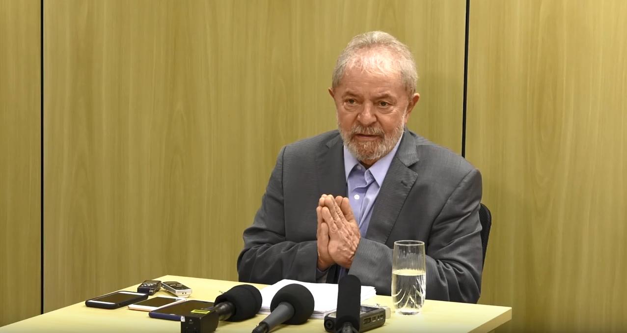 Ex-presidente Luiz Inácio Lula da Silva em entrevista aos jornais El País e Folha de S.Paulo