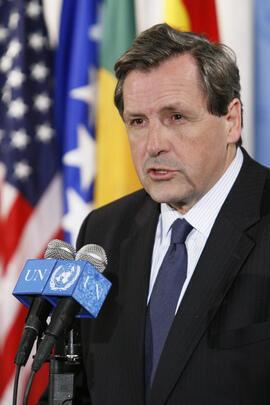 Alain Le Roy, secrétaire adjoint des Nations Unies.