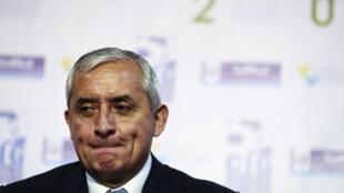 危地馬拉總統佩雷斯辭職
