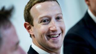 El fundador de Facebook, Mark Zuckerberg, el 17 de febrero de 2020 en Bruselas