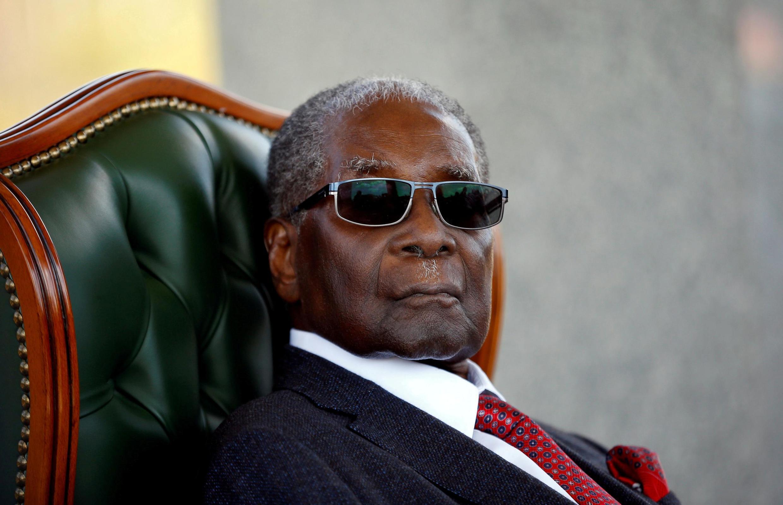 Robert Mugabe, ancien president du Zimbabwe.