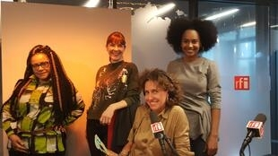 Marie-Jeanne Serbin Thomas, Caroline Baly, Emmanuelle Bastide et Sheena Donia.